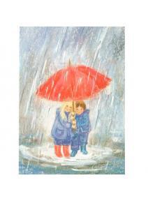 Posta Bajo la lluvia