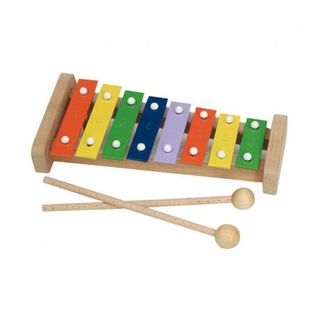 Carillon pentatónico de color