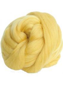 Lana cardada en cinta - amarillo