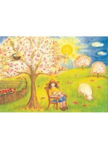 Postal Dia de primavera