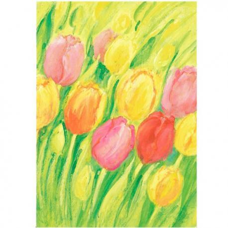 Postal Tulipanes