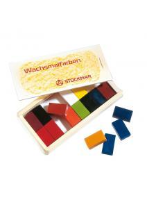 Bloques de cera 16 colores Stockmar