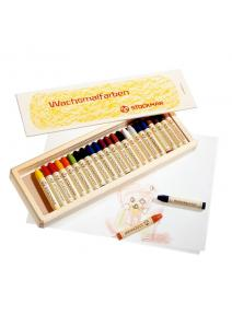 Lápices de cera  24 colores Stockmar