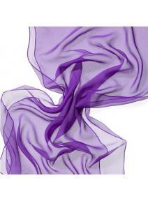 Chal en seda chiffon - lavanda