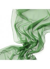 Chal de seda chiffon verde menta
