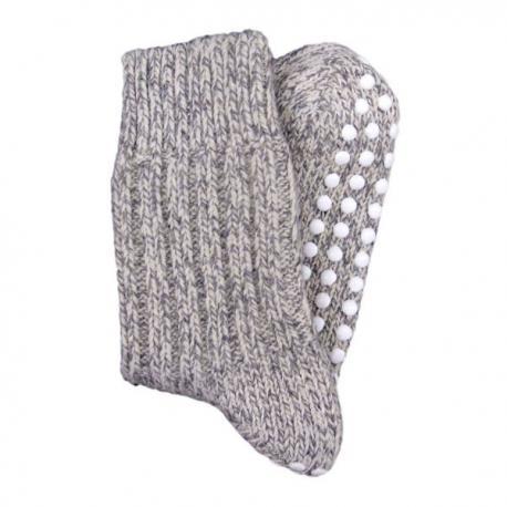 Calcetines de lana antideslizantes