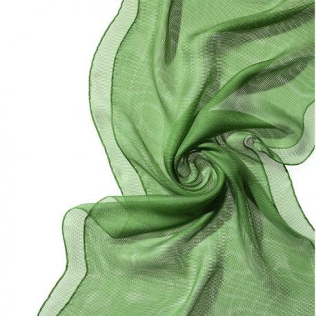 Chal de seda Tissu de gasa - verde menta.
