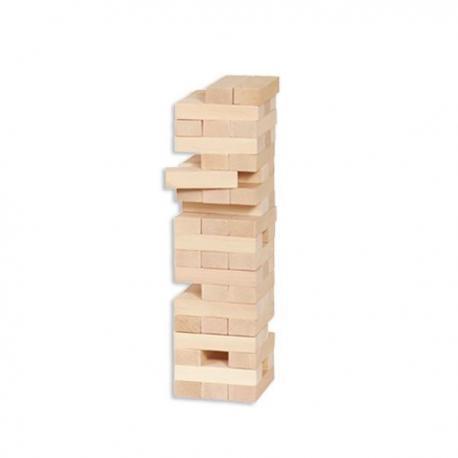 Torre de madera natural