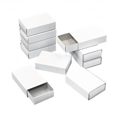 Cajitas de cerillas blancas - por unidad