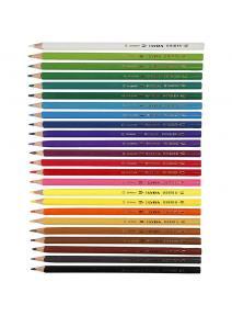 Lyra - lápices de madera Osiris de 24 colores - caja cartón