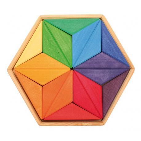 Puzzle de madera Estrella complementaria
