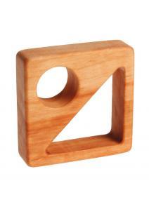 Mordedor de madera cuadrado