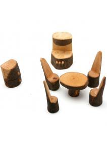 Muebles - cocina de madera