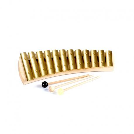 Glockenspiel diatónico 12 tonos