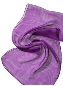 Chal de seda Tissu de gasa - purpura