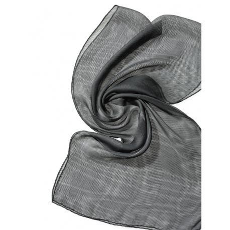 Chal de seda Tissu de gasa - gris