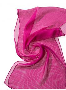 Chal de seda Tissu de gasa - pink