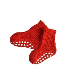 Calcetines antideslizantes - rojo