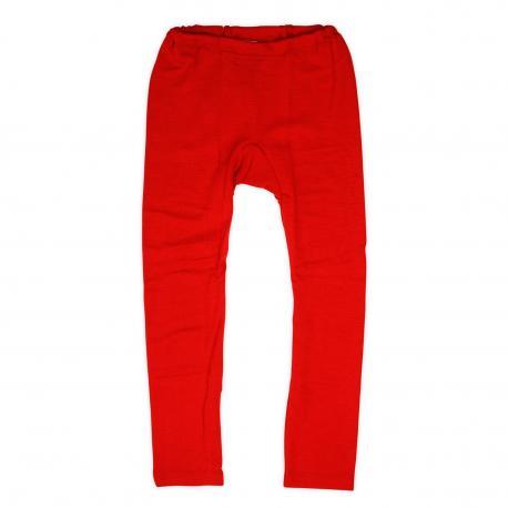 Malla de lana y seda - rojo