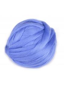 Lana cardada en cinta - azul claro