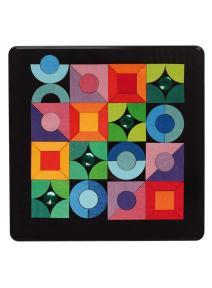 Puzzle magnético - formas básicas