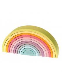 Arco iris Waldorf  pastel