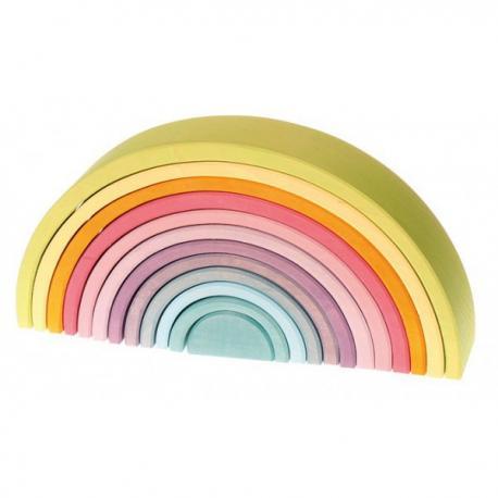 Arco iris Waldor tonos pastel grimms