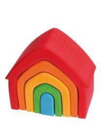 Casa de madera Arco Iris grimms