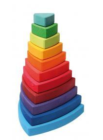 Torre de madera Wankel grimms