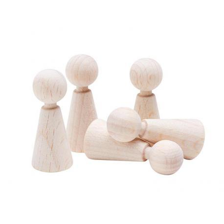 Base para muñecos de dedos y enanitos