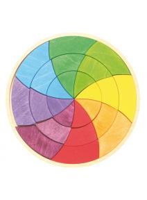 Mandala de madera Goethe