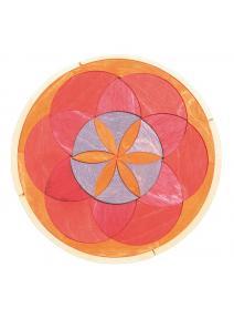 Mandala de madera Otoño