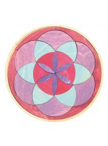 Mandala de madera Invierno