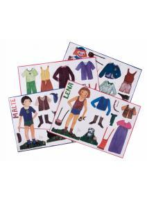 Niños recortables para vestir