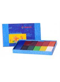 Bloques de cera 12 colores