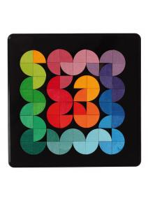 Puzzle magnético