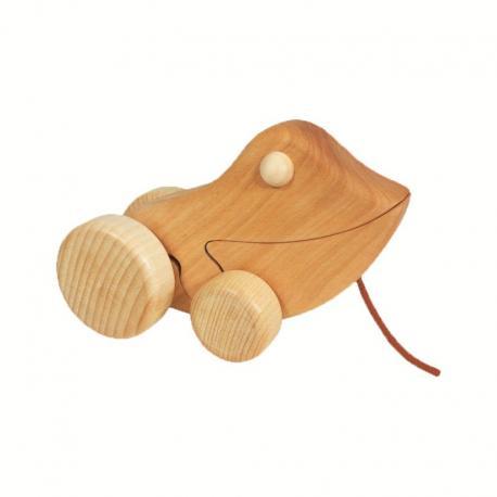 Rana de madera de arrastre