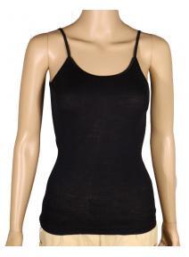 Camiseta de lana organica y seda