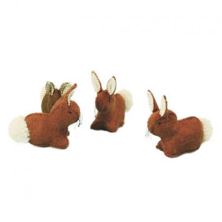 Conejo de fieltro