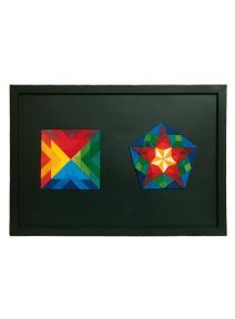 Pizarra para puzzles magnéticos