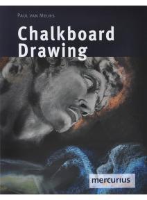 Chalkboard drawing Dibujo en pizarra