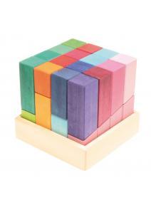 Gran cubo de colores