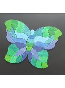 Puzzle magnético Mariposa