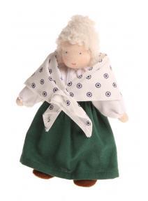 Muñeca Waldorf abuela