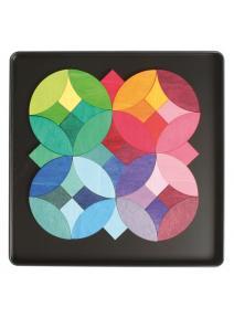 Puzzle magnético Círculos
