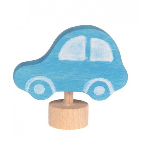 Figura de madera Coche