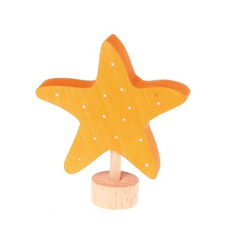 Figura de madera Estrella de mar