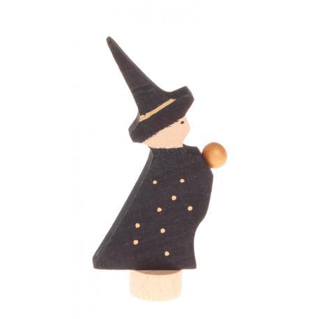Figura de madera Mago