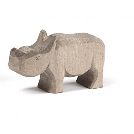 Rinoceronte de madera pequeño