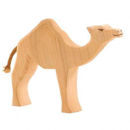 Dromedario de madera
